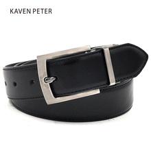 Buy Black Brown Belts Reversible Pin Buckle Belt Strap Black/ Dark Brown Designer Belts Luxury Brand Leather 35mm Wide for $8.58 in AliExpress store