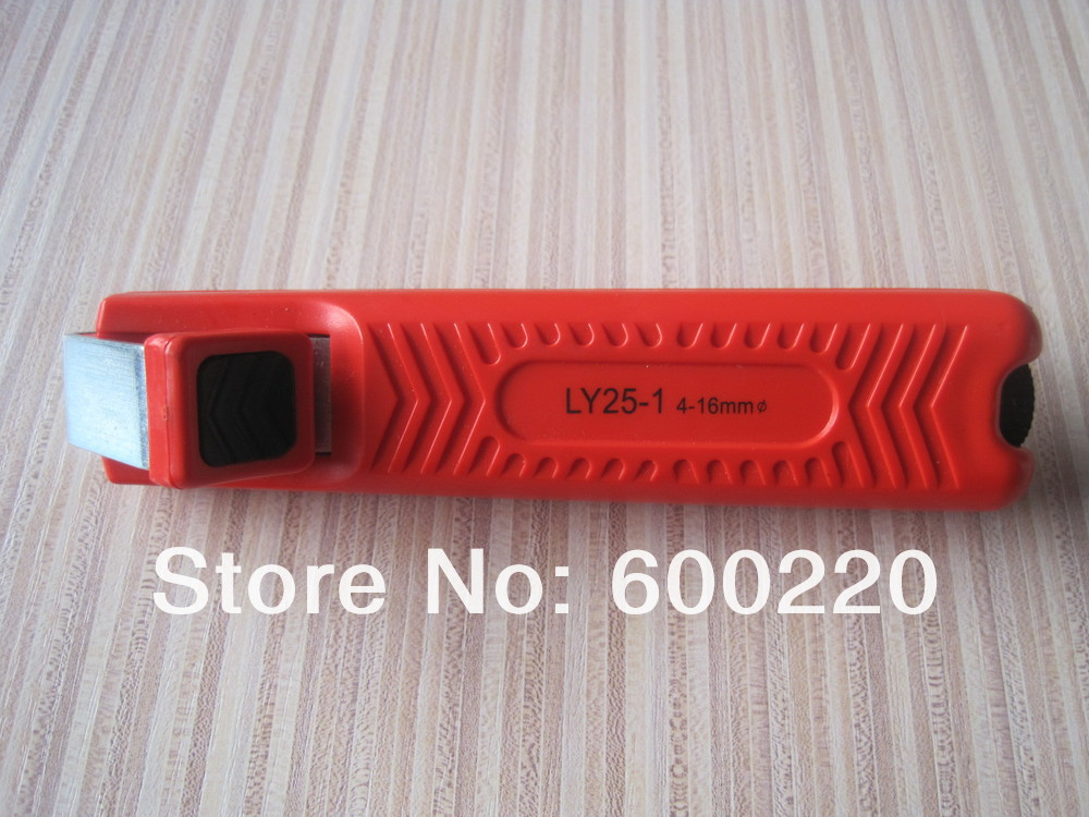 LY25-1 cable stripper coaxial cable stripping tool for stripping cables diameter 4-16mm /cable cutter(China (Mainland))
