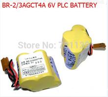 Br-2 / 3AGCT4A BR2 / 3AGCT4A BR-2 / 3A4F BR2 / 3A4F с вилка 6 плк FANUC литиевая батарея для Panasonic