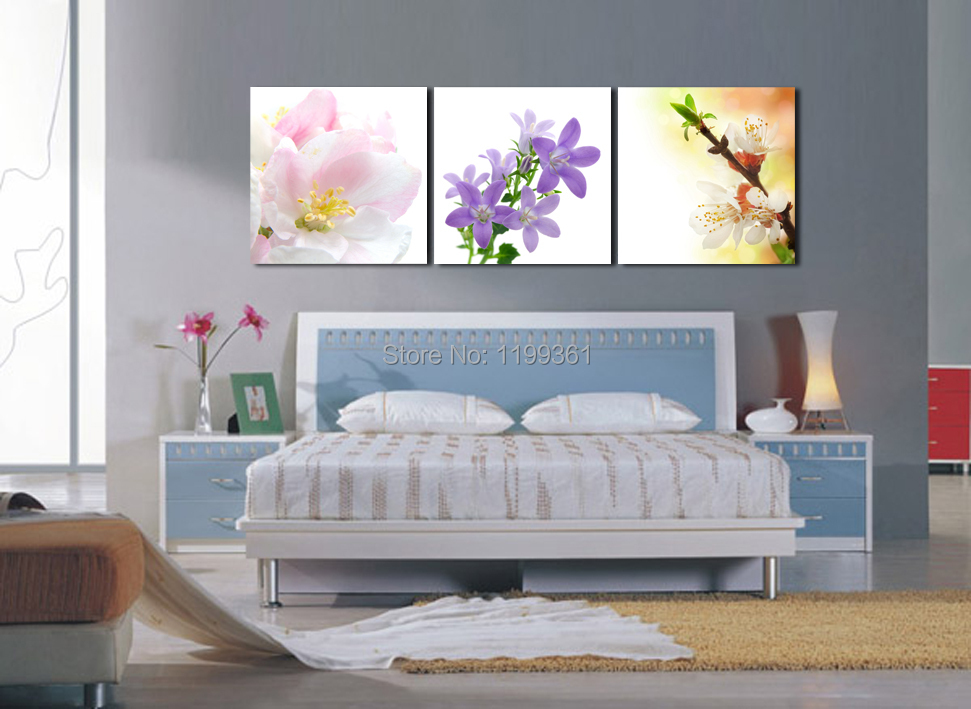 3 Piece Free Shipping Modern Wall Painting Realistic