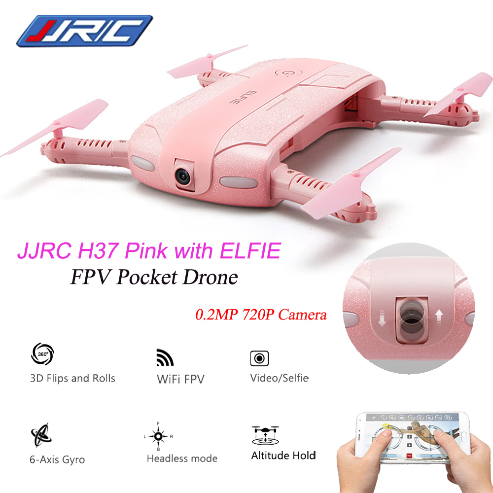 JJRC H37 Elfie foldable Mini Selfie Drone JJRC H37 W/ Camera Altitude Hold FPV Quadcopter WIFI phone Control RC Helicopter Drone(China (Mainland))