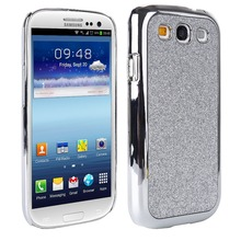 Luxury Bling Bling Case For Samsung Galaxy S3 i9300 SIII Cases Plating Hard Back Cover Mobile Coque Fundas Phone Accessories(China (Mainland))