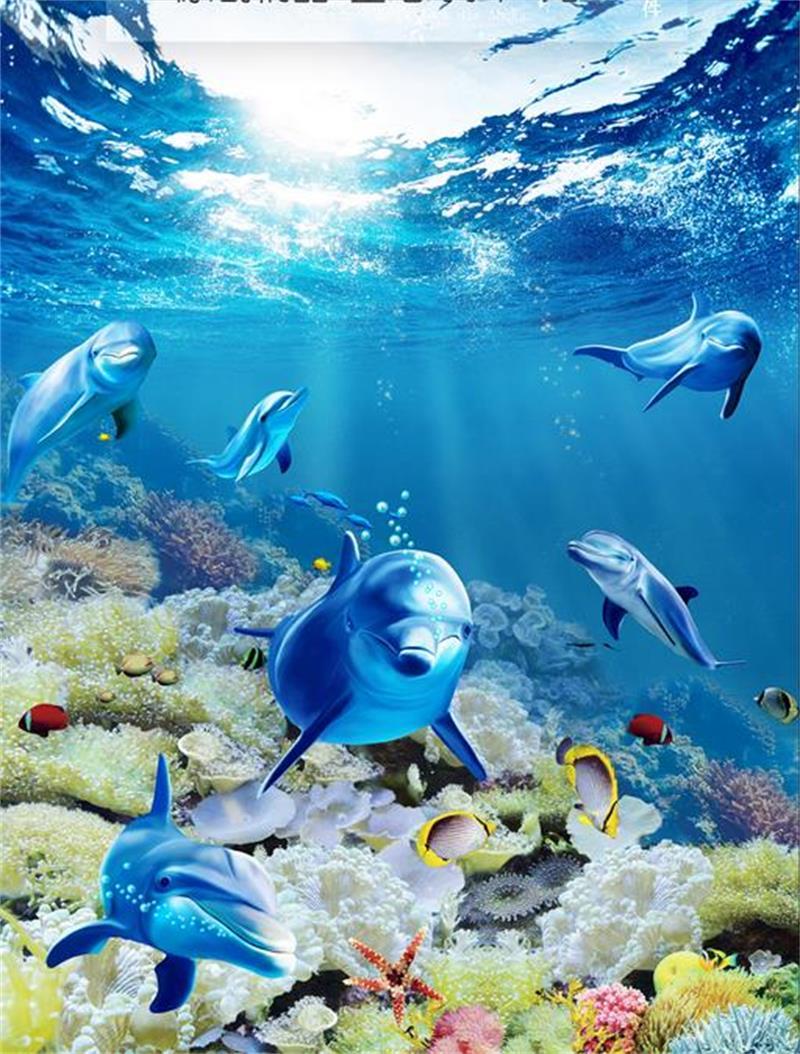 Others dolphin pictures promotie winkel voor promoties others dolphin pictures op - Kamer schilderij ...