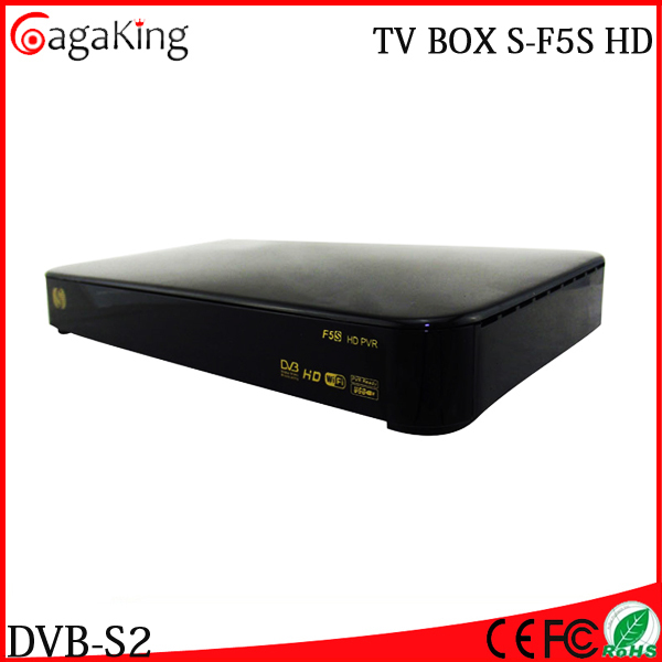 Supermax Free shipping F5S Satellite receiver tv Satellite smart cccam smart tv box youtube Popular in UK Best tv box(China (Mainland))