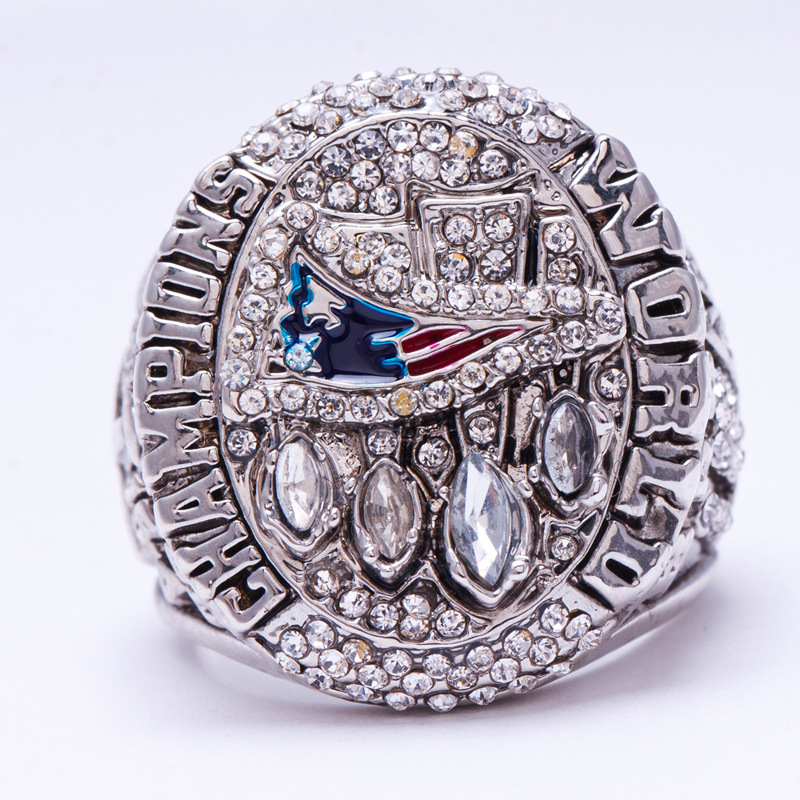 2014 American football New England Patriots Super Bowl sale replica championship ring Fast shipping STR0-183(China (Mainland))
