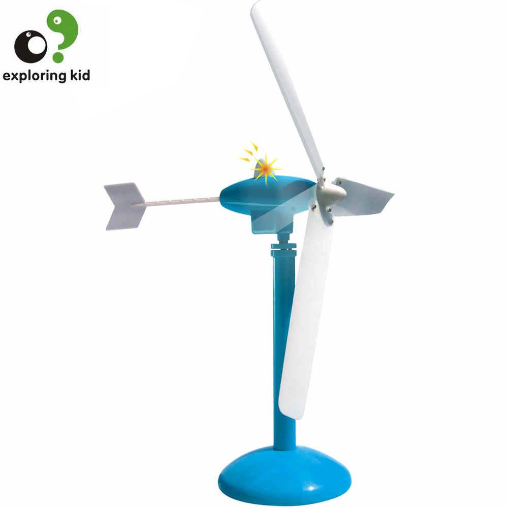 educational toys for children windpower science model green energy wind power generator experiment of gift box ek-d017<br><br>Aliexpress