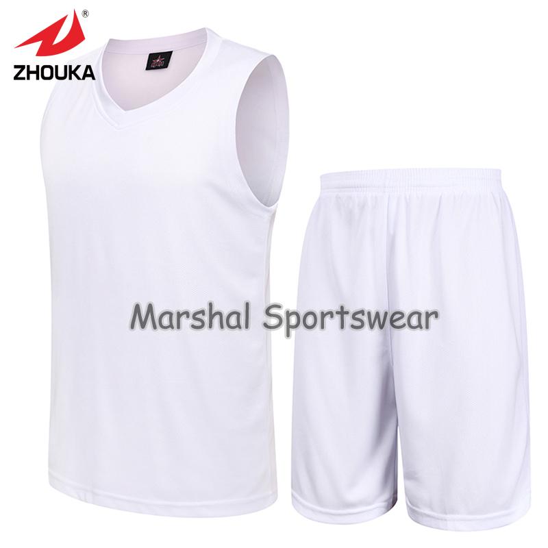 Men's Set sports shirt training Sleeveless basketball jersey blank jersey suit Wear accept small quantity(China (Mainland))