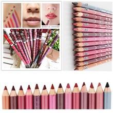 Professional 12 Pcs/set Per Set Brand New Women's Professional Lipliner Waterproof Lip Liner Pencil 15CM M01248(China (Mainland))