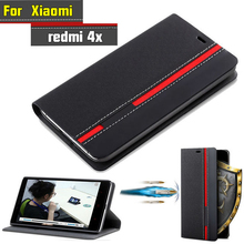 Buy Xiaomi Redmi 4X Case Flip Luxury Fashion PU Leather Back Fundas Coque Cover Case Xiaomi Redmi 4X pro prime Phone Stand for $4.49 in AliExpress store