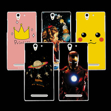 """Buy Ample Perfect Design Painted Phone Case Sony Xperia C3 Dual D 2533 2502 S55T S55u Hard Back Cover Shell Sony C3 5.5"""" for $1.39 in AliExpress store"""