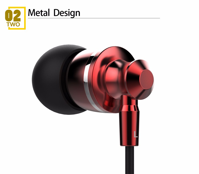 Langsdom M300 Metal Super Bass In-ear Earphone Volume Control with Mic Headset Earphones for iphone Xiaomi Mp3 fone de ouvido