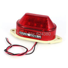 Red LED Flash Strobe Light Industrial Signal Indicating Emergency Alarm Warning Lamp DC12V AC220V AV110V 24V DC LTE-5051(China (Mainland))
