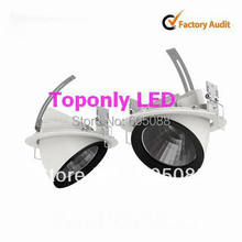 2015 Best Selling 35w Epistar cob led downlight AC110V/220V triac dimmable led down lamp 54pcs/lot promotion DHL free shipping(China (Mainland))