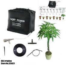 Home Micro Irrigation System Family Balcony Bonsai Flower Drip Irrigation Self-acting Watering Kits For 8 Flower Pots 50 Days(China (Mainland))