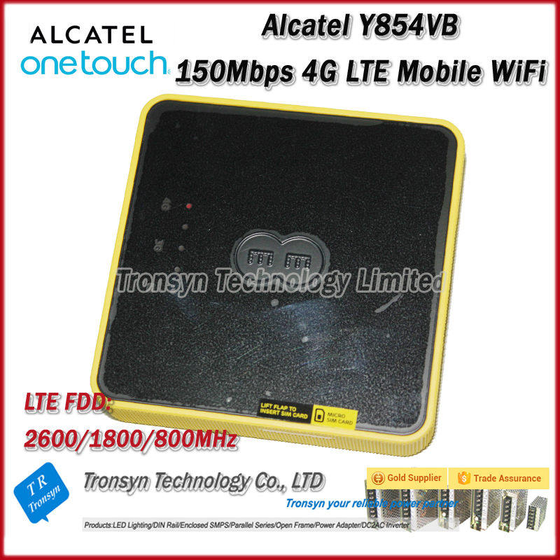 New Arrival Original Unlock Alcatel Y854 150Mbps 4GLTE WiFi Router With Sim Card Support LTE FDD B3 B7 B20<br><br>Aliexpress