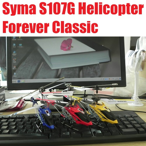 SYMA S107 S107G RC Helicopter 3.5CH mini RC toys with GYRO 100% Original Free Shipping
