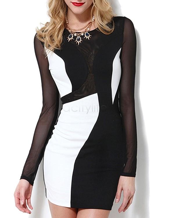 платье с открытой спиной с ажурной вставкой