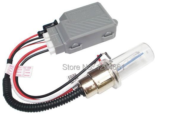 Free shipping Mini motor H6 swing light with ballast Motor/Motorcycle Bike Hid Lights Xenon Bulbs Headlamp 2600lm 12V 35W 8000K(China (Mainland))