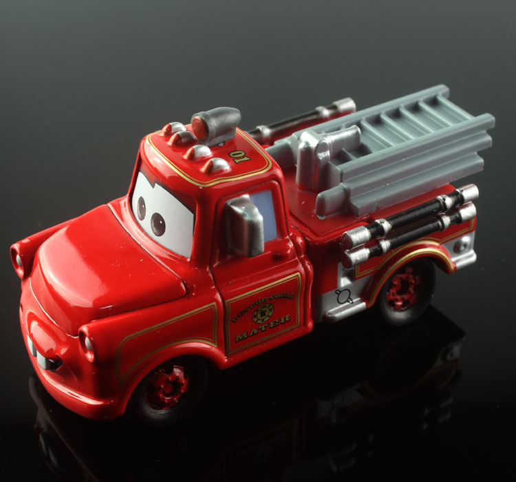 Tomica tomy disny mini kids cars cute mater tow truck fire fighting truck alloy metal die cast race car diecast models toys gift(China (Mainland))