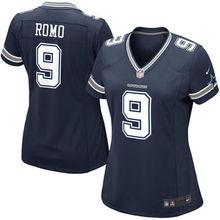 2016 Women Dallas Cowboys #9 Tony Romo #88 Dez Bryant #82 Jason Witten Blue white #21 Ezekiel Elliott(China (Mainland))