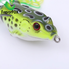 fishing lure Mixed 5 models fishing tackle 5 color Minnow lure Crank Lures Mix fishing bait Frog Fishing lures(China (Mainland))
