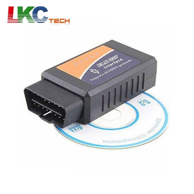 2016 Good Quality ELM327 Bluetooth ODB2 Auto Diagnostic Interface Scanner ELM 327 Bluetooth V2.1 Car Scan Tool For Multi-Brands(China (Mainland))