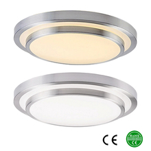 LED ceiling lights Dia 350mm,aluminum+Acryl High brightness 220V 230V 240V,Warm white/Cool white 18W 24W 33W Led Lamp(China (Mainland))
