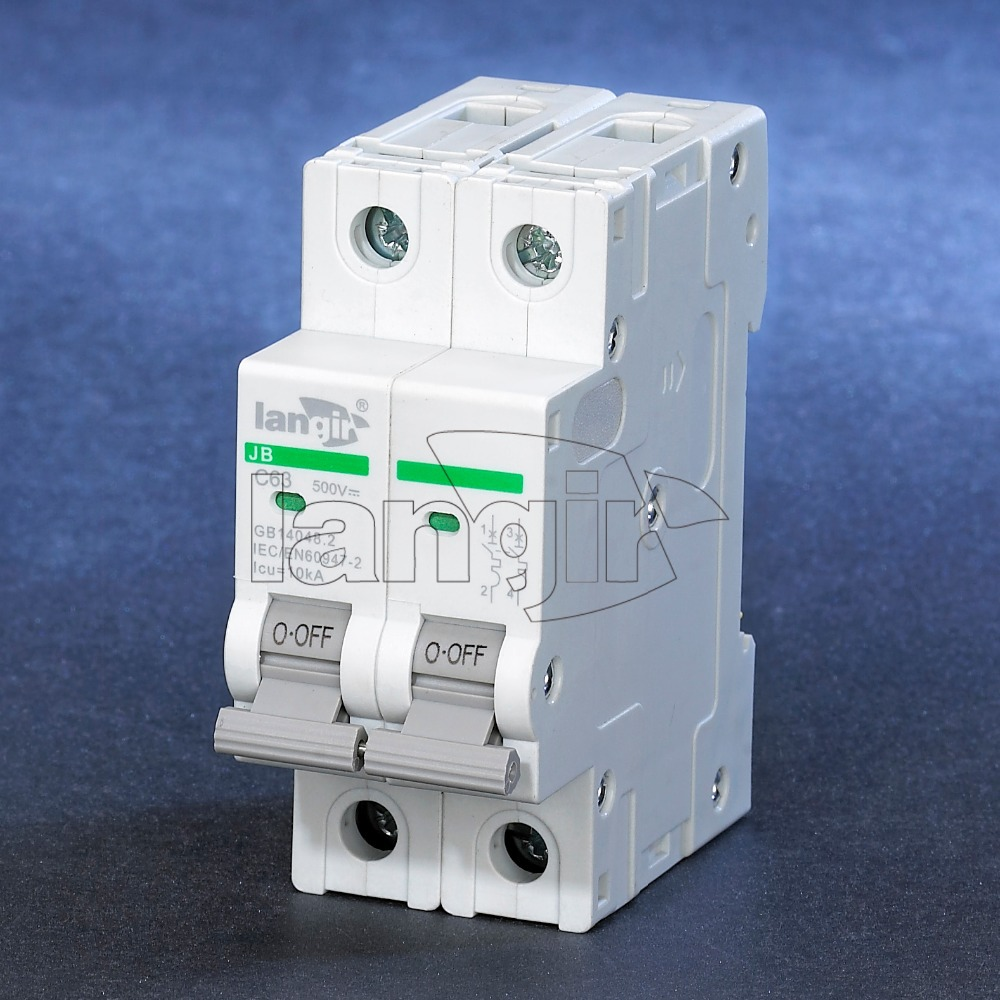 2P DC circuit breaker with TUV certificates from 1A to 63A<br><br>Aliexpress