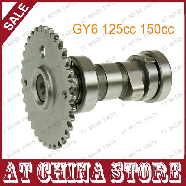 Cam Shaft 125cc 150cc GY6 Scooter Moped ATV 152QMI 157QMJ Camshaft for Jonway ZNEN TAOTAO ROKETA SUNL JCL