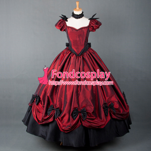 Victorian ROCOCO Gown Ball dress Gothic Tafetta Costume Tailor-made  [G769]Одежда и ак�е��уары<br><br><br>Aliexpress