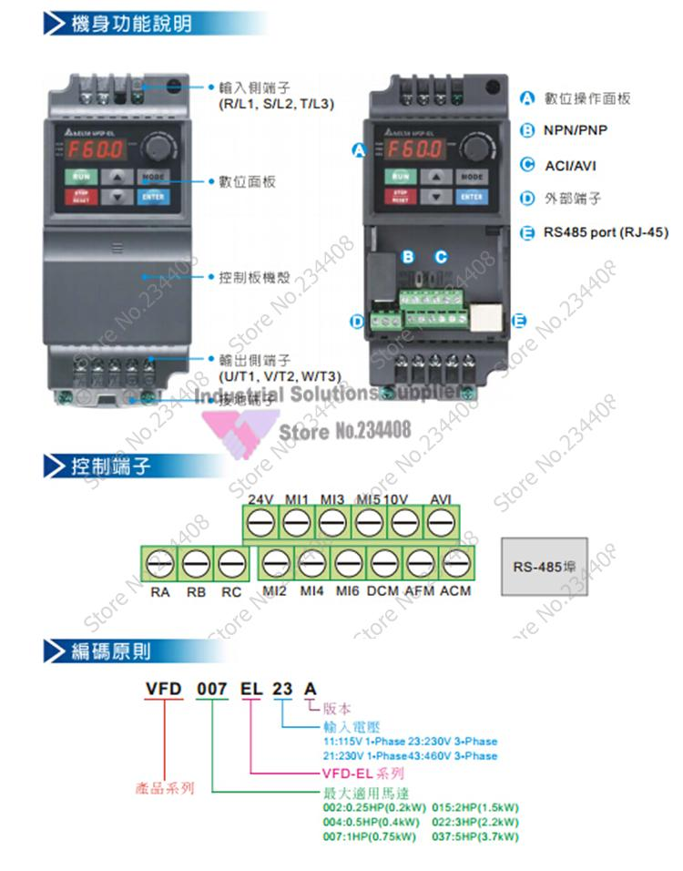 HTB1Cpw9GXXXXXcOXFXXq6xXFXXX2 el delta inverter series vfd el vfd022el43a 3 phase 380v 2 2kw delta vfd el wiring diagram at n-0.co