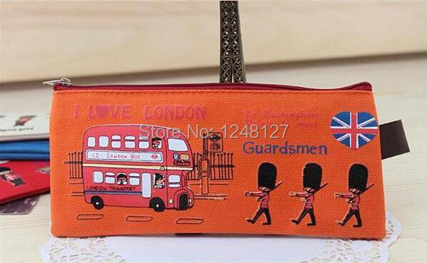Bd2 free shipping pencil bag bolso bolsa de lapiz for Utiles de oficina