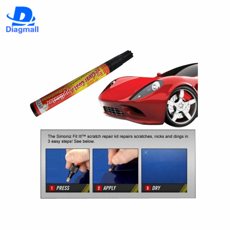 2016 New Fix It Pro Mending Car Scratch Repair Remover Paint Pen For Simoniz Clear Pens Packing Car Styling Car Care(China (Mainland))