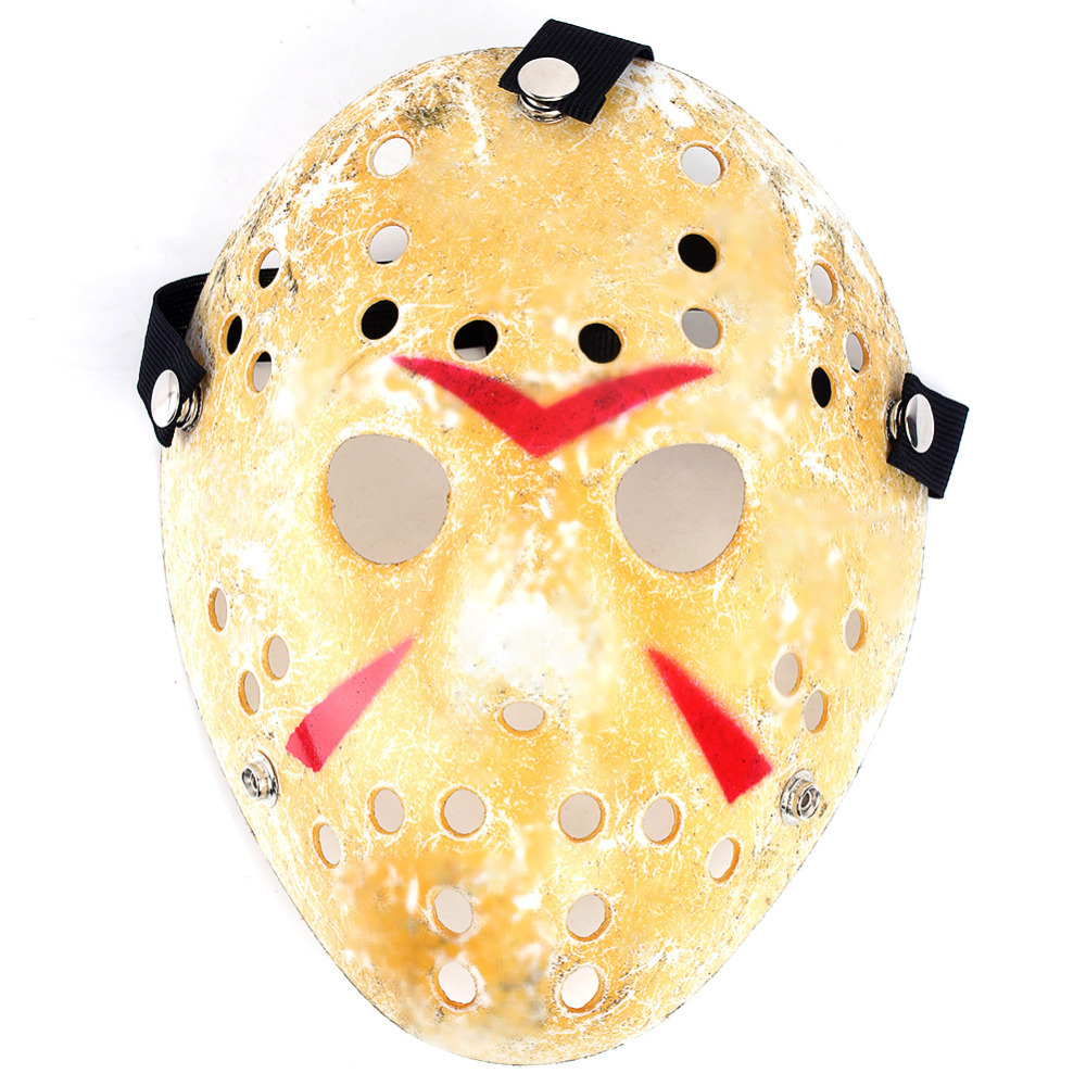 New Make Old Cosplay Halloween Mask Jason Voorhees Freddy Hockey Festival Party Halloween Masquerade Mask 1 Piece(China (Mainland))