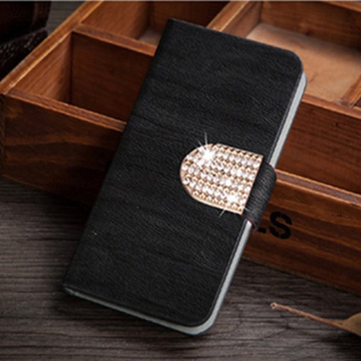 Original wooden leather case for Samsung Galaxy Core Plus G3500 G3502 Trend 3 Flip stander phone cases cover with card holder(China (Mainland))