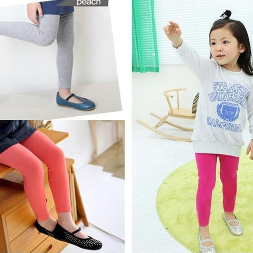 Hot Candy Color Baby Kids Girls Cotton Stretch Legging Toddler Skinny Slim Pants Free Shipping <br><br>Aliexpress