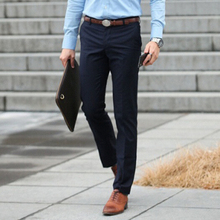 Buy 2017 Brand New Autumn Spring Men Casual Long Straight Suit Pants Mens Trousers Formal Dress Pants Pantalones Hombre 13M0109 for $21.99 in AliExpress store