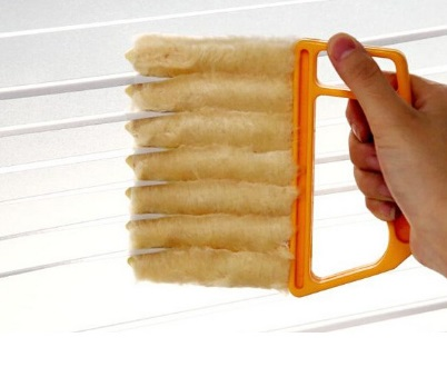 71% Off Cleaning 7-blades Window Blind Brush Vanzlife Vehicle Air Conditioner Shutter Dust Removing Keyboard Brush Cleaner Tool(China (Mainland))