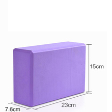 23*15*7.6CM YOGA Block Candy Color Silicon Gym Exercise Fitness Floating Foam Physio Massage Yoga T0.25 - Daily Show Store store