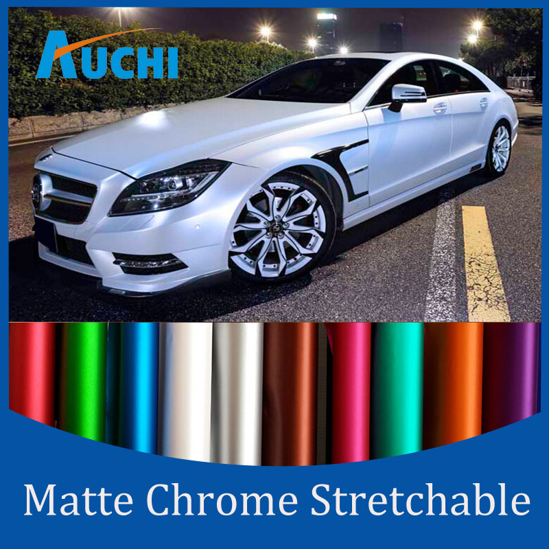 FLOCK Purple Matte chrome Vinyl Truck Sheet Scotchprint Car Wrap Vinyl Film 1080 Series FLOCK Gray(China (Mainland))