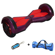 2 wheel hoverboard with Colored lights scooter 8 inch bluetooth self balancing scooter smart electric hoverboard free shipping(China (Mainland))