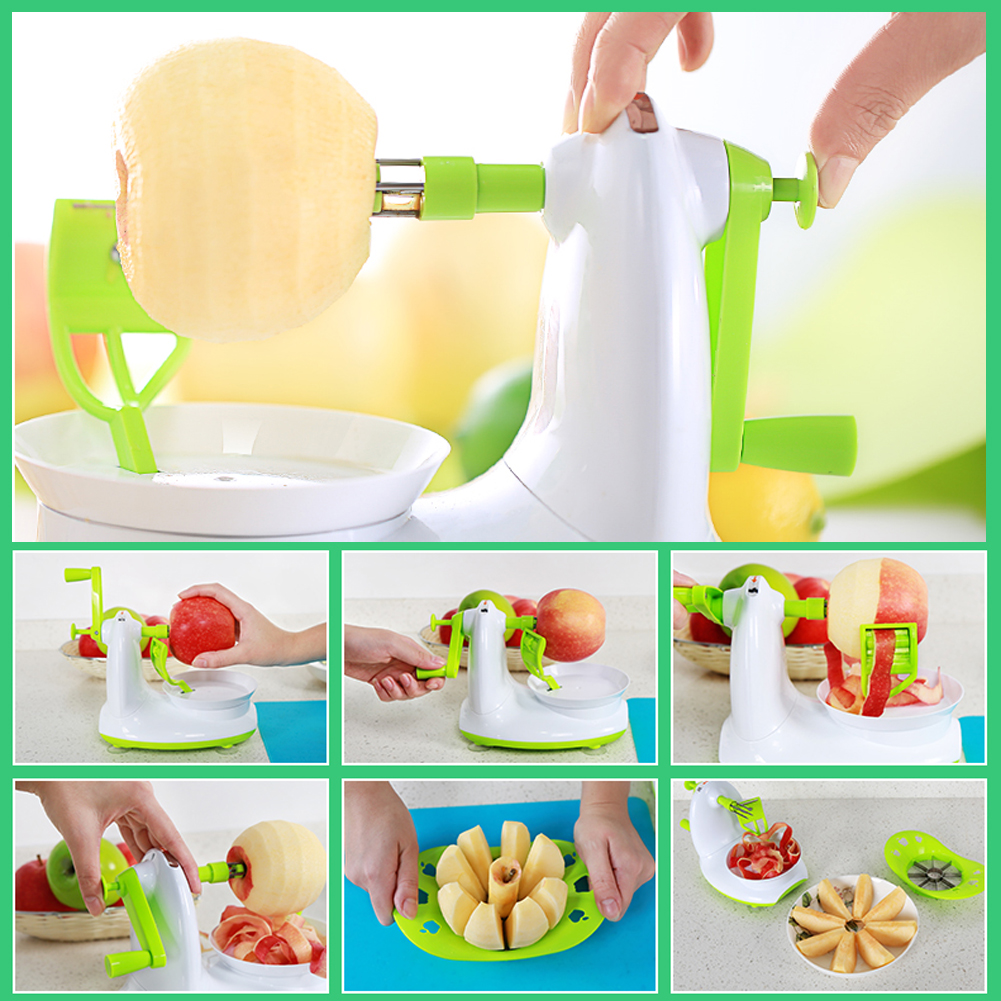 2016 New Arrivals Manual Firm Fruit Apple Peeler Apple Cutter Corer Machine Fruit Vegetable Tools Free Shipping V1NF(China (Mainland))