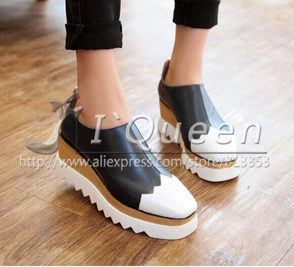 2015 Spring Summer Wedges Genuine Leather Women Leisure Ankle Boot