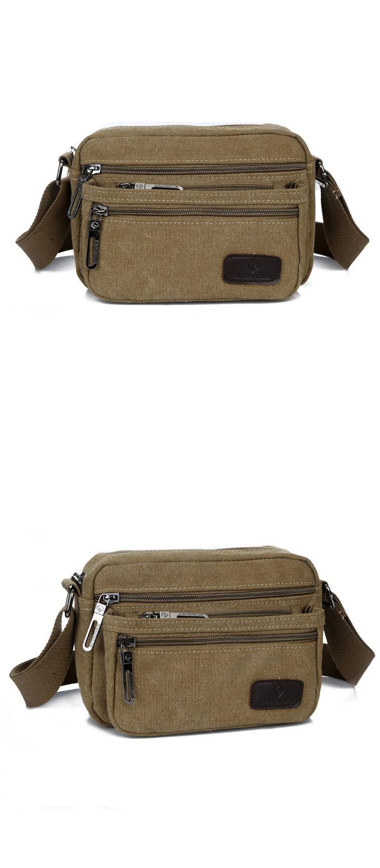 New Men Women Fashion Casual Satchel Outdoor Sport Canvas Messenger Shoulder Bag