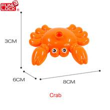 Funlock Duplo Action Figure Blocks Crab Deep Ocean Animals Educational Kids Toys