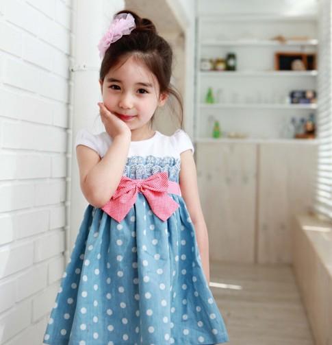 Платье для девочек GL Brand Freeship 1/6y FF10223 gl brand vogue 3colors jf0017