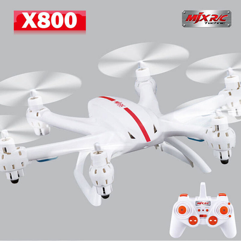 Free Shipping!MJX X800 6-axis Gyro 2.4G RC Quadcopter Drone Helicopter 3D Roll