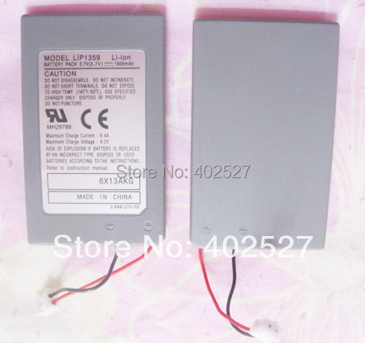 2PCS / LOT Replacement Battery for Sony PlayStation PS3 Six Axis DualShock 3 Controller(China (Mainland))