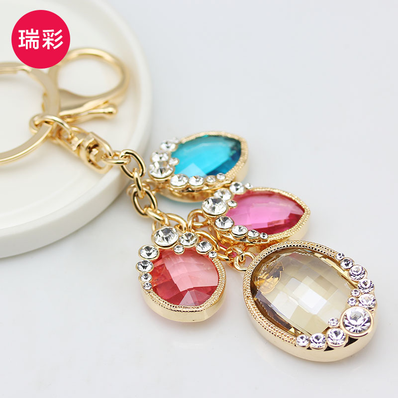 Crystal fairy tail mercedes benz keychain supplies key for Mercedes benz key chain accessories