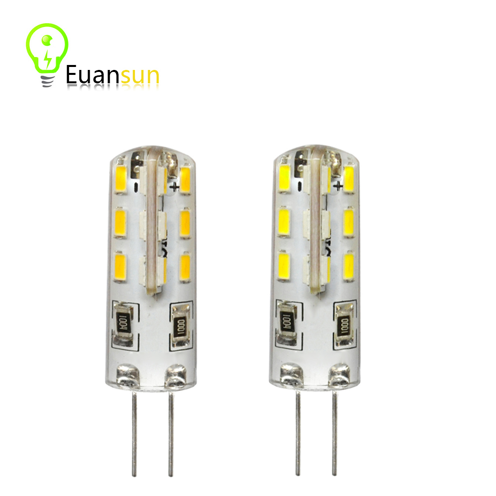 G4 led bulb 3w DC 12V 24 LED Cree Chips Replace halogen 360 degree Chandelier Lamp Bulb Spotlight Warm White / White(China (Mainland))